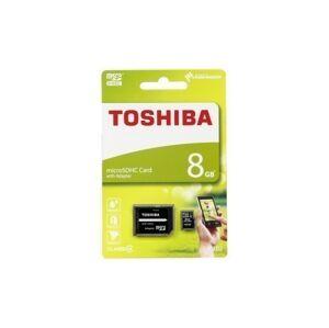 Sandisk Toshiba MicroSD Card 8GB + adapter SD