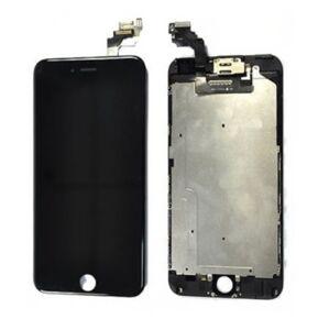 Čierny LCD displej iPhone 6 Plus s prednou kamerou + proximity senzor OEM (bez home button)