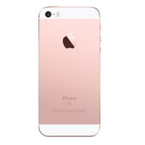 Apple iPhone SE - Zadný kryt - rose gold