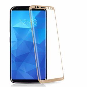 3D ochranné sklo - Full Face - Samsung Galaxy S8+ Gold