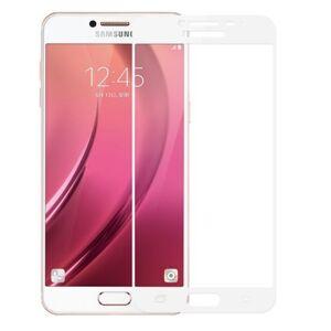 Full glue 3D tvrdené ochranné sklo pre Samsung Galaxy A3 2017 - biele