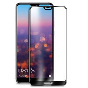 ROAR 3D čierne ochranné sklo Huawei P20 Lite