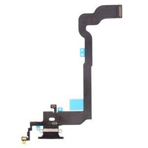 Apple iPhone X - dock nabíjací spodný flex konektor - šedý
