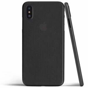 Ultra Slim Matt Case iPhone X - čierny