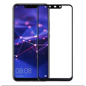 FULL GLUE 3D tvrdené ochranné sklo pre Huawei Mate 20 Lite - čierne