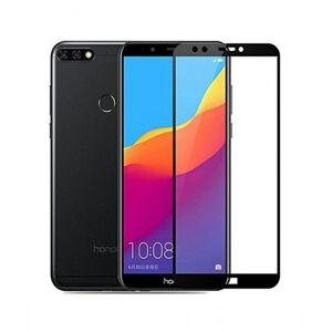 FULL GLUE 3D tvrdené ochranné sklo pre Huawei Y7 - čierne