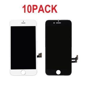 10PACK - LCD displej iPhone 7 Plus OEM - biely/čierny