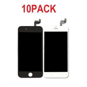 10PACK - LCD displej iPhone 6S OEM - biely/čierny