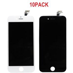 10PACK - LCD displej iPhone 6 OEM - biely/čierny