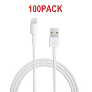 100PACK - USB dátový kábel Apple iPhone Lightning MD818 ORIGINAL (Bulk)