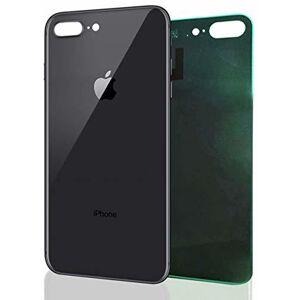 Apple iPhone 8 Plus - Zadné sklo housingu iPhone 8 Plus - čierne