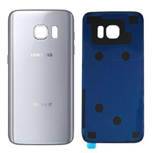 Samsung Galaxy S7 Edge - Zadný kryt - strieborný