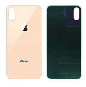 Apple iPhone XS - Zadné sklo housingu - zlaté