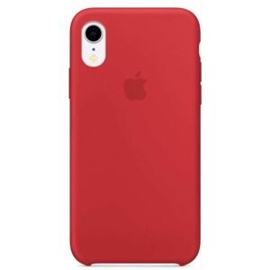 Apple iPhone XR Silicone Case - (PRODUCT)RED