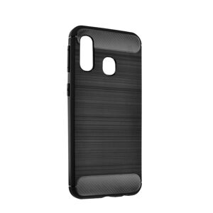 Forcell CARBON Case  Samsung Galaxy A70E čierny