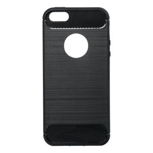 Forcell CARBON Case  iPhone 5/5S/SE čierny