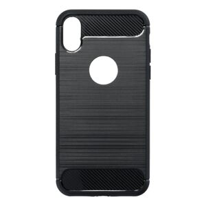 Forcell CARBON Case  iPhone X čierny