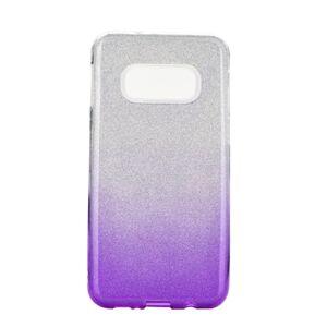 Forcell SHINING Case  Samsung Galaxy S10e priesvitný/fialový
