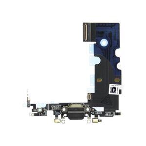 Apple iPhone 8 - Dokovací nabíjací flex s mikrofónom - čierny