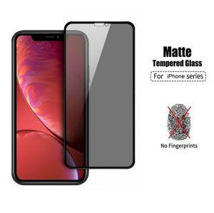 5D matné ochranné temperované sklo pre Apple iPhone XR