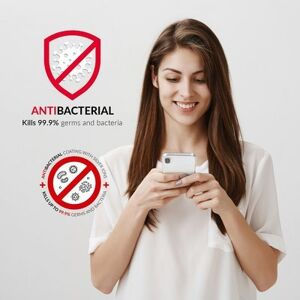 Forcell AntiBacterial kryt pre iPhone 11 Pro Max - transparentný