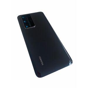 Huawei P40 Pro - zadný kryt - black - čierny - so sklíčkom zadnej kamery