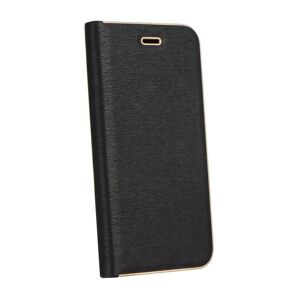 Forcell LUNA Book Gold for iPhone 12 / 12 PRO black
