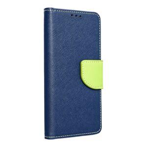 Fancy Book    iPhone 12 MINI  tmavomodrý/žltý limetkový