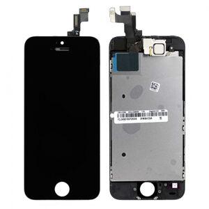 Čierny LCD displej iPhone SE s prednou kamerou + proximity senzor OEM (bez home button)
