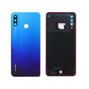 Huawei P30 lite - Zadný kryt - modrý - so sklíčkom zadnej kamery (variant 48MP kamera)