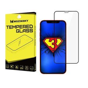 Wozinsky Full Glue Case friendly - 3D ochranné tvrdené sklo pre iPhone 12/iPhone 12 Pro
