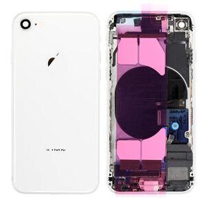 Apple iPhone 8 - Zadný kryt - housing iPhone 8 - biely s malými dielmi