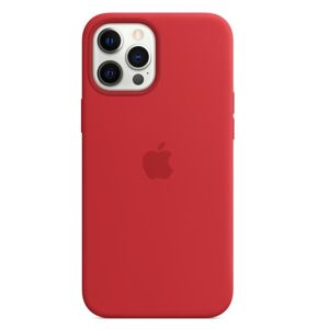 Apple iPhone 12 Pro Max Silicone Case - Red