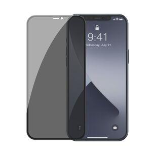2PACK Baseus Anti-Spy - Ochranné temperované sklo pre Apple iPhone 12 mini - 2ks v balení