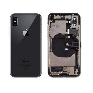 Apple iPhone X - Zadný Housing - Space Gray s malými dielmi