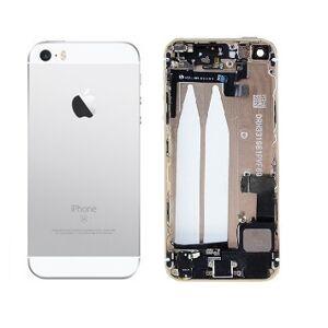 Apple iPhone SE - Zadný kryt - strieborný/biely s malými dielmi