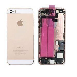 Apple iPhone 5S - Zadný kryt - champagne gold / zlatá s malými dielmi