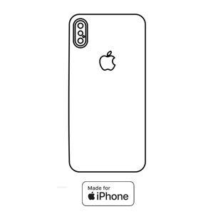 Hydrogel - zadná ochranná fólia - iPhone X/XS - typ 2