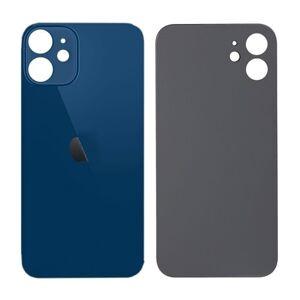 Apple iPhone 12 mini - Sklo zadného housingu so zväčšeným otvorom na kameru BIG HOLE - modré