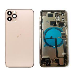 Apple iPhone 11 Pro - Zadný Housing (Zlatý) s malými predinštalovanými dielmi