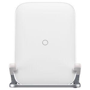 Baseus - bezdrôtová nabíjačka 15W biela