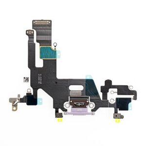 Apple iPhone 11 - dock nabíjací spodný flex konektor (purple)
