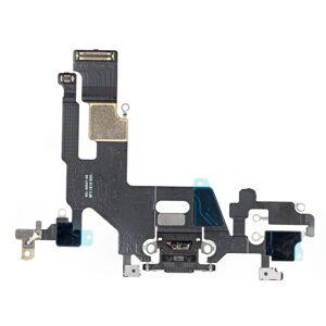Apple iPhone 11 - dock nabíjací spodný flex konektor (black)