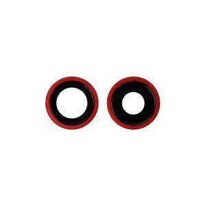 Apple iPhone 11 - sklíčka zadnej kamery - red