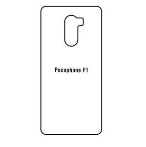 Hydrogel - zadná ochranná fólia - Xiaomi Pocophone F1