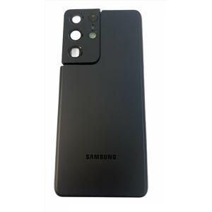 Samsung Galaxy S21 Ultra 5G - Zadný kryt so sklíčkom zadnej kamery - čierny
