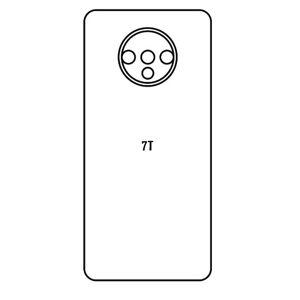 Hydrogel - matná zadná ochranná fólia - OnePlus 7T