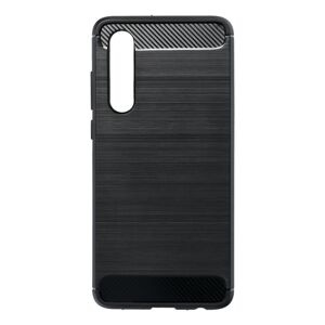 Forcell CARBON Case  Huawei P30 čierny