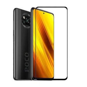 FULL GLUE 3D tvrdené ochranné sklo pre Xiaomi POCO X3/X3 Pro