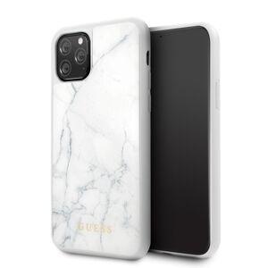 Original   GUESS GUHCN58HYMAWH iPhone 11 Pro biely